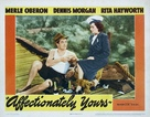 Affectionately Yours - Movie Poster (xs thumbnail)