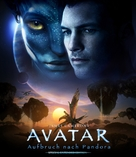 Avatar - German Blu-Ray cover (xs thumbnail)
