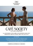Café Society - French poster (xs thumbnail)