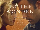 To the Wonder - British Movie Poster (xs thumbnail)