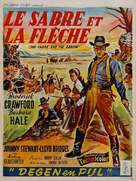 Last of the Comanches - French Movie Poster (xs thumbnail)
