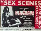 Une flamme dans mon coeur - British Movie Poster (xs thumbnail)