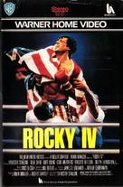 Rocky IV - Italian VHS movie cover (xs thumbnail)