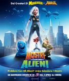 Monsters vs. Aliens - Italian Movie Poster (xs thumbnail)