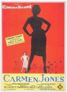 Carmen Jones - Italian Movie Poster (xs thumbnail)