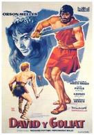 David e Golia - Spanish Movie Poster (xs thumbnail)