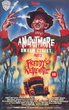 A Nightmare On Elm Street Part 2: Freddy's Revenge - British VHS movie cover (xs thumbnail)