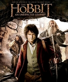 The Hobbit: An Unexpected Journey - Blu-Ray movie cover (xs thumbnail)