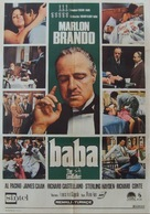 The Godfather - Turkish Movie Poster (xs thumbnail)