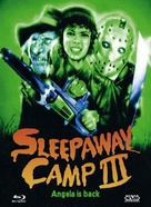 Sleepaway Camp III: Teenage Wasteland - Austrian Blu-Ray movie cover (xs thumbnail)