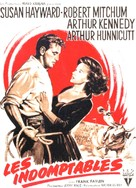 The Lusty Men - French Movie Poster (xs thumbnail)
