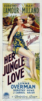 Her Jungle Love - Australian Movie Poster (xs thumbnail)