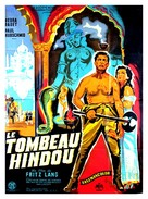 Indische Grabmal, Das - French Movie Poster (xs thumbnail)