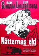 Never So Few - Swedish Movie Poster (xs thumbnail)