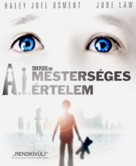 Artificial Intelligence: AI - Hungarian Blu-Ray movie cover (xs thumbnail)