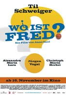 Wo ist Fred!? - German Movie Poster (xs thumbnail)