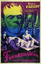 Frankenstein - French Movie Poster (xs thumbnail)