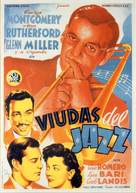 Orchestra Wives - Spanish Movie Poster (xs thumbnail)