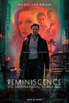Reminiscence - German Movie Poster (xs thumbnail)