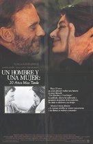 Un homme et une femme, 20 ans déjà - Movie Poster (xs thumbnail)