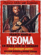 Keoma - Danish Movie Poster (xs thumbnail)