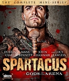 """Spartacus: Gods of the Arena"" - Blu-Ray cover (xs thumbnail)"