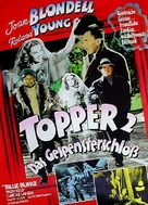 Topper Returns - German Movie Poster (xs thumbnail)