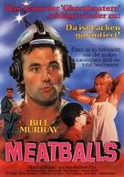 Meatballs - German Movie Poster (xs thumbnail)