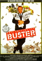 Buster - German Movie Poster (xs thumbnail)