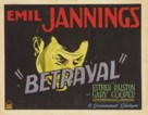 Betrayal - Theatrical poster (xs thumbnail)