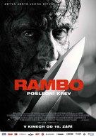 Rambo: Last Blood - Czech Movie Poster (xs thumbnail)