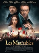 Les Misérables - French Movie Poster (xs thumbnail)