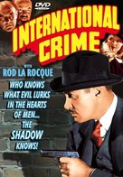 International Crime - DVD cover (xs thumbnail)