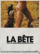 La bête - French Movie Poster (xs thumbnail)