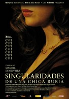 Singularidades de uma Rapariga Loira - Spanish Movie Poster (xs thumbnail)