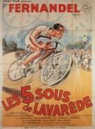 Cinq sous de Lavaréde, Les - French Movie Poster (xs thumbnail)