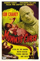 The Mummy's Curse - Re-release movie poster (xs thumbnail)