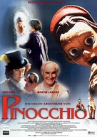 The Adventures of Pinocchio - German Movie Poster (xs thumbnail)