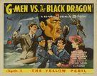 G-men vs. the Black Dragon - Movie Poster (xs thumbnail)