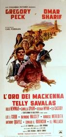 Mackenna's Gold - Italian Movie Poster (xs thumbnail)