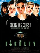 The Faculty - French Movie Poster (xs thumbnail)