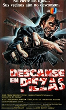 Descanse en piezas - Spanish Movie Cover (xs thumbnail)