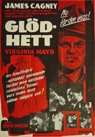 White Heat - Swedish Movie Poster (xs thumbnail)