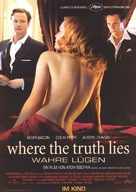 Where the Truth Lies - Swiss Movie Poster (xs thumbnail)