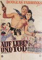 The Fighting O'Flynn - German Movie Poster (xs thumbnail)