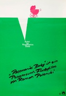 Rosemary's Baby - German Movie Poster (xs thumbnail)