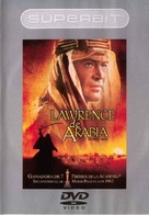 Lawrence of Arabia - Mexican DVD cover (xs thumbnail)