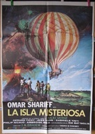 Isla misteriosa y el capitán Nemo, La - Spanish Movie Poster (xs thumbnail)