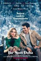 Last Christmas - Turkish Movie Poster (xs thumbnail)