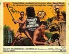 Tarzan's Jungle Rebellion - British Movie Poster (xs thumbnail)